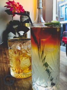 Old Fashioned + Dark & Stormy